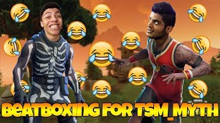 I Met TSM Myth in Fortnite Random Duos (Fortnite Battle Royale Random Duos)
