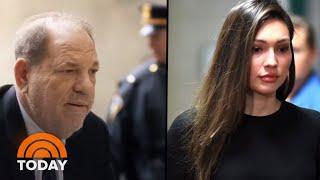 Harvey Weinstein 'Is My Rapist,' Accuser Says In Emotional Return To Court   TODAY