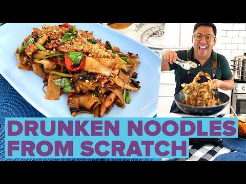 how-to-make-thai-drunken-noodles-at-home-•-tasty