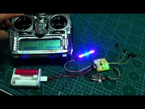 Cleanflight LED Strip and OLED Display Wiring and Setup | FunnyDog.TV