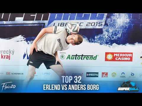 Anders Borg v Erlend | Superball 2015 - Top 32