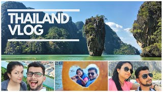 Honeymoon Destination Part 2~Thailand Vlog | Phuket Trip | Indian Hindi Travel Vlog 2019