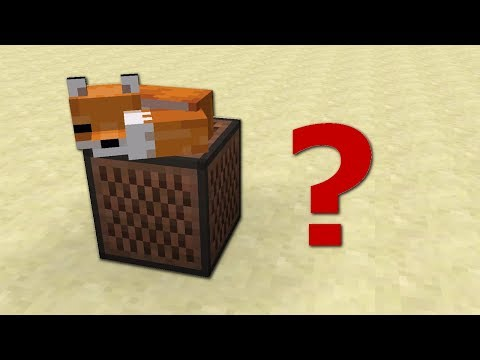 ♫ What Does The Fox Say? | Minecraft Parody
