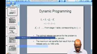 Dynamic Programming: Capacity expansion and shortest route problems