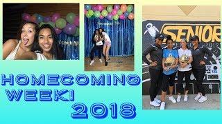 vlog #9   hoco week: senior year!!   Baelani Vlogz