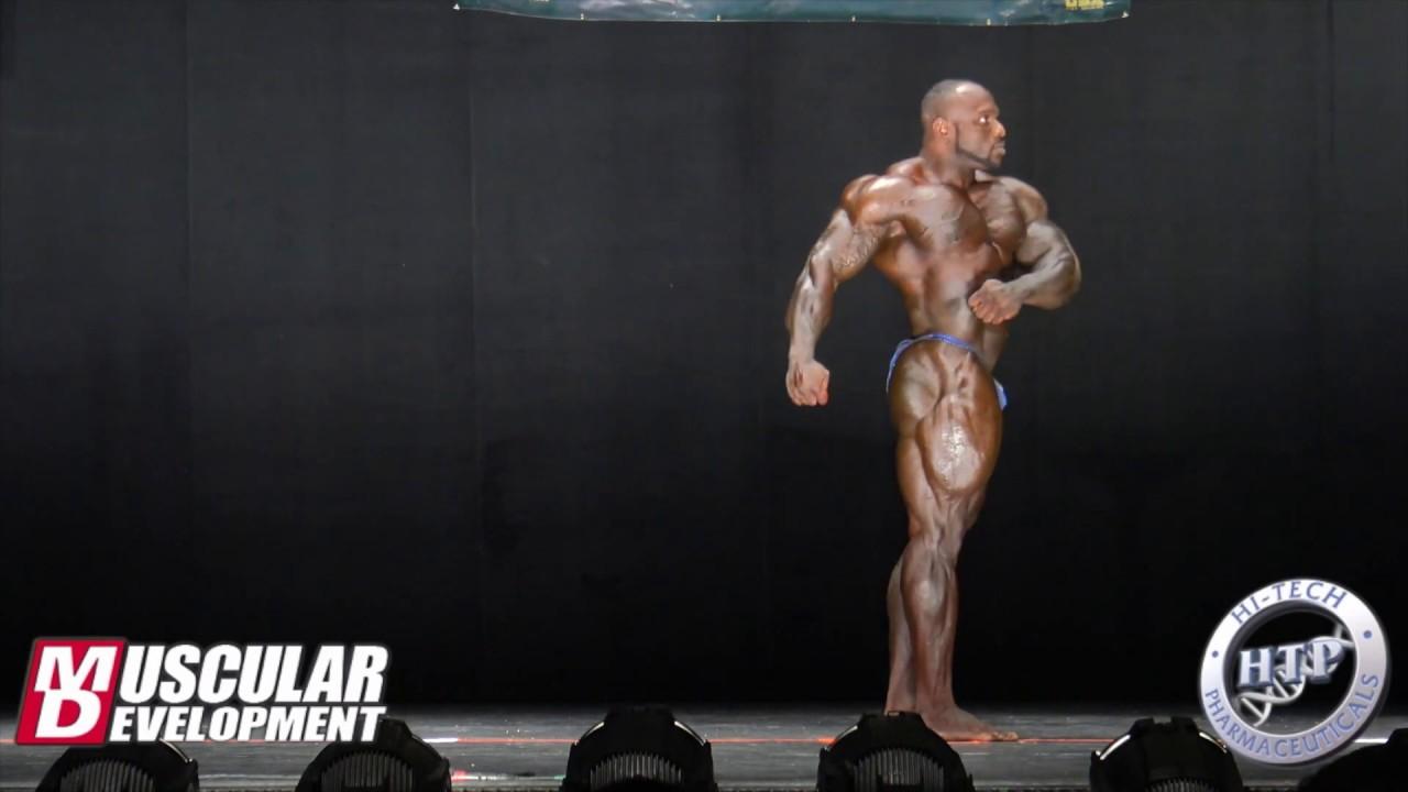 Akim Williams' Posing Routine (2nd) | 2018 IFBB Muscle Mayhem Pro
