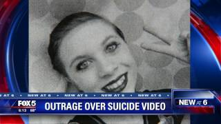 Girl's 'suicide video' sparks outrage online