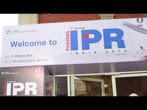 Pharma IPR Conference 2018 - Day One Highlights