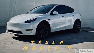 Tesla Model Y tinted in 15% 3M Ceramic IR WINDOW TINT (OC TINT SOLUTIONS)