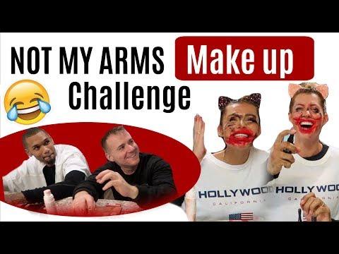 Lachflash vorprogrammiert  NOT MY ARMS CHALLENGE