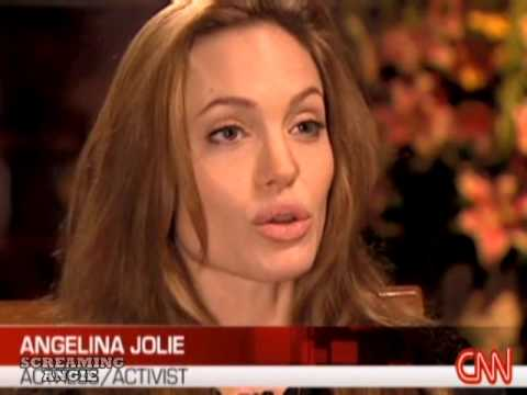 Angelina Jolie on world refugees