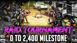 TWD RTS: 0-to-2400 Raid Stream! The Walking Dead: Road to Survival