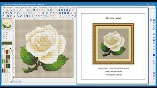 Программа Cross Stitch Professional Platinum — как изменить титульный лист в печати и экспорте