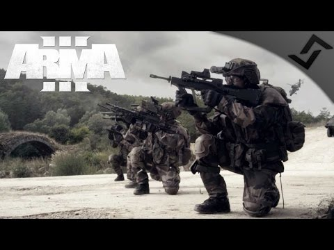 French Army vs Druglords - ARMA 3 Zeus Gameplay