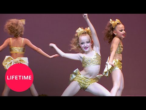 Dance Moms: The Minis' First Competition (Season 6 Flashback) | Lifetime