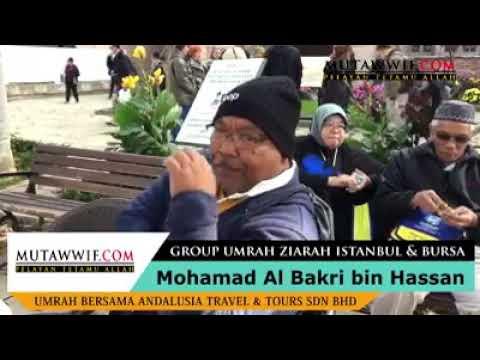 Testimoni #2 Peserta Umrah Ziarah Istanbul