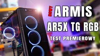SilentiumPc Armis AR5X TG RGB - premiera nowych obudow od SPC