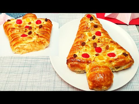 Hojaldre con Manzana | Postre Navideño muy Fácil y Delicioso #83