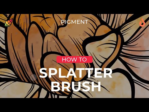 Tutorial: Painting With The Splatter Brush