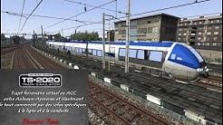 [Train Simulator 2020] Voyage commenté en AGC d'Aulnoye-Aymeries à Hautmont (Ligne Creil à Jeumont)