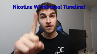 Nicotine Withdrawal Timeline! | How to QUIT Vaping!!