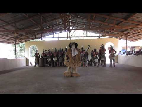 National Dance Troupe of Sierra Leone at Cultural Village-Fr