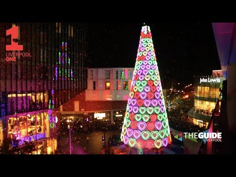 Liverpool ONE Christmas Lights 2017 | The Guide Liverpool - YouTube