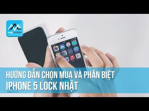 Tư vấn mua iphone 5 lock cũ