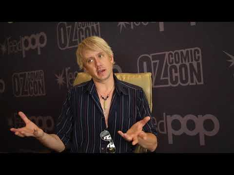 Chad Lindberg talks Bring Back Jesse Project and Party Monsters  Pt 2  Oz Comic Con Sydney 2017