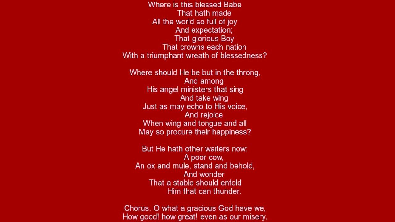hymn for christmas day lyrics old christmas carol - When Is Christmas Day
