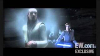 the clone wars season 3 preview liam neeson returns as qui gon jinn subtitulado