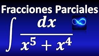 270. Integral mediante Fracciones Parciales: x con exponente