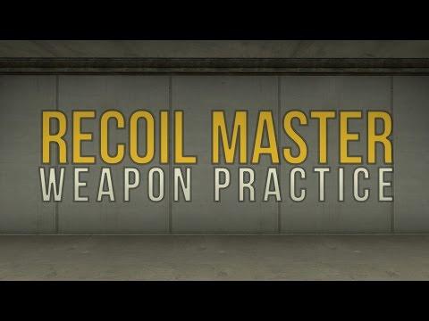 CSGO Recoil Spray Improvement Master Training Spray Control Map