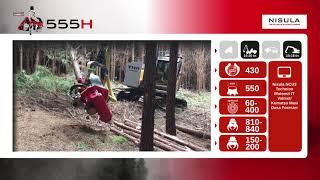 Video brochure of Nisula 555H harvester head