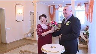 Галина и Владимир Пулины отметили золотую свадьбу