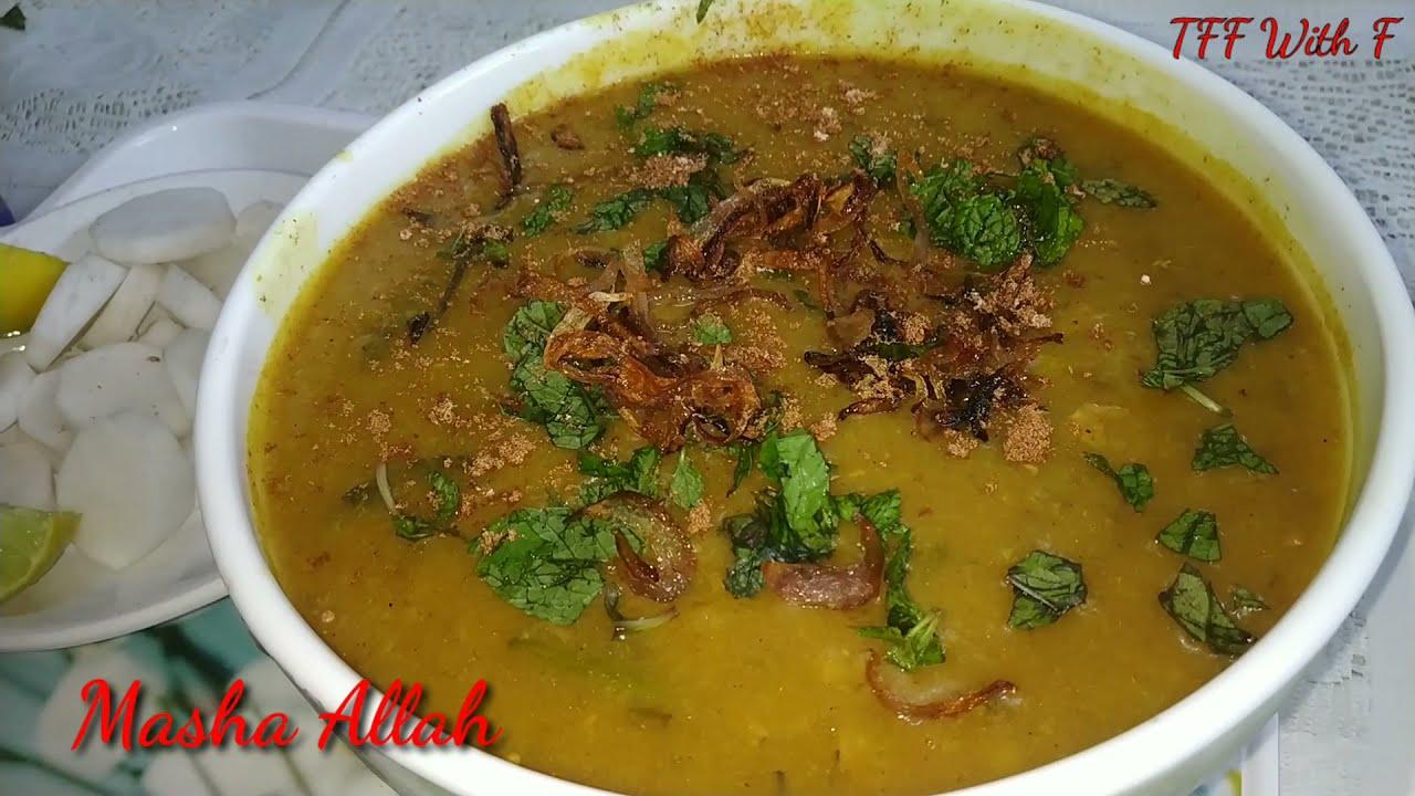 Mutton Khichda    Haleem/ Daleem Recipe   TFF With F