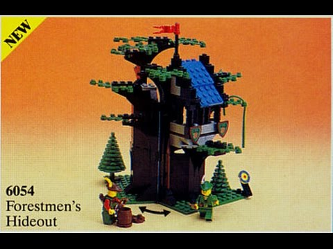 Lego Castle Forestmens Hideout Youtube