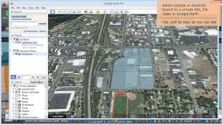 Directly to Google Earth (KML) from your AutoCAD drawing - Spatial Manager™ Blog