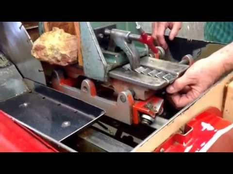 How To Use A Slab Saw, Bell Lapidary Club