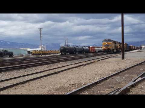 UP 7949 Departs Sparks NV