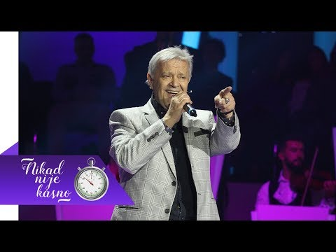 Emir Hadzihafizbegovic - Malo je, malo dana - (live) - Nikad nije kasno - EM 03 - 07.10.2018
