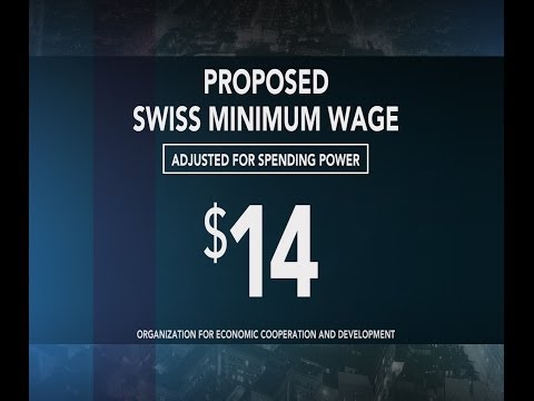 Swiss voters reject plan to set a minimum wage