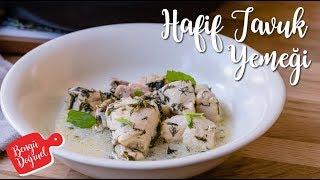 Çok Hafif Tavuk Yemeği Tarifi - Taze Otlu Nefis Tavuk Tarifi (Kolay Tavuk Yemekleri)