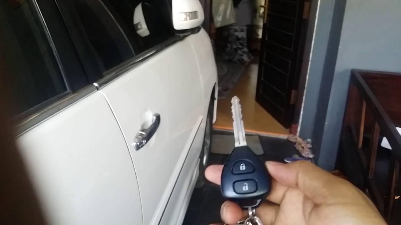 cara mematikan alarm grand new avanza spesifikasi 2015 toyota innova 2013 setting silent mode and back youtube