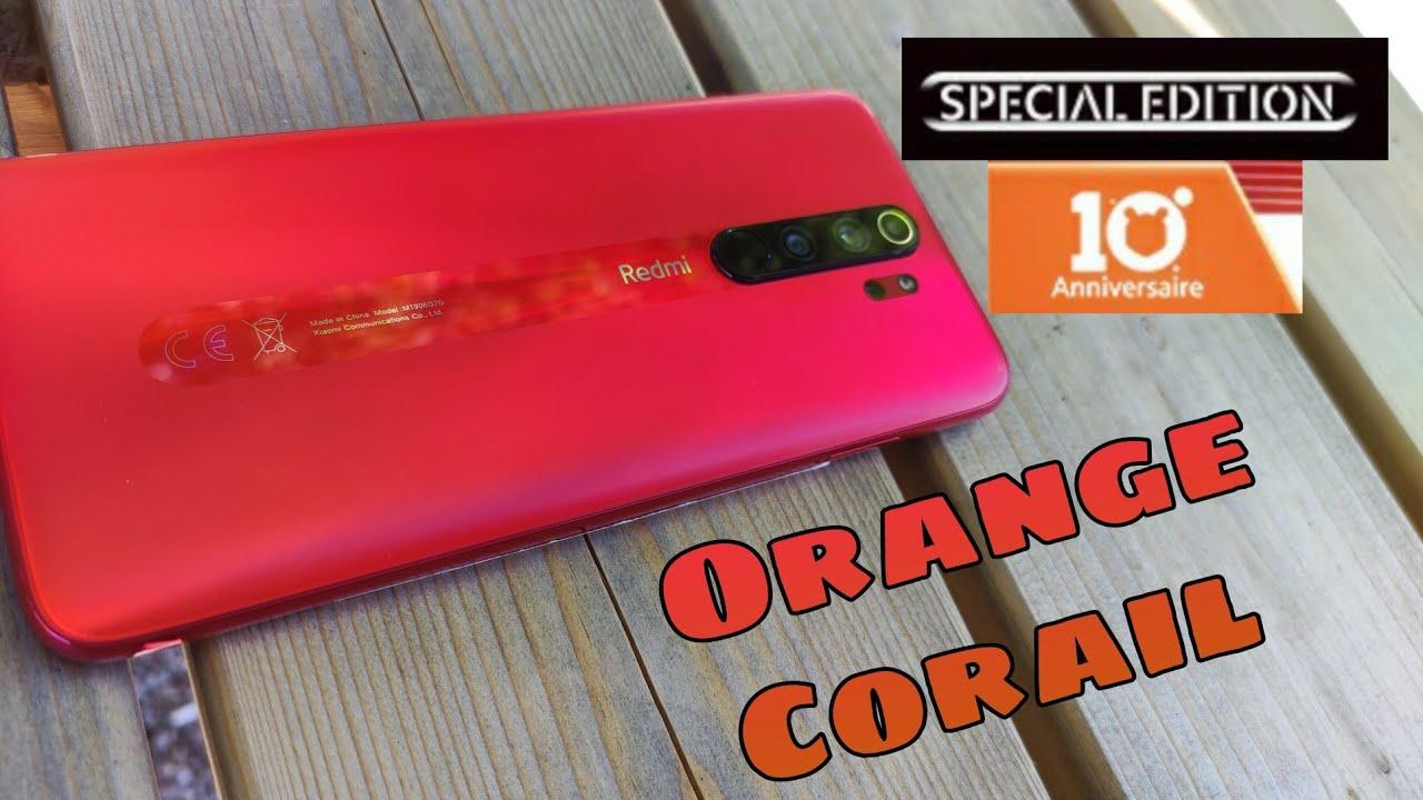 Decouverte Du Redmi Note 8 Pro Version 10 Ans Orange Corail Youtube