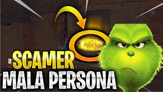 😡🔥SCAMEO to SCAMER VERY BAD PERSON👿 Fortnite Save the World