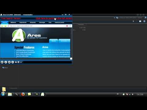 Como descargar e instalar Ares 2012