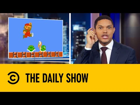 Super Mario Will Be Taught In Schools Across The UK   The Daily Show With Trevor Noah
