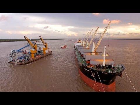 Oldendorff Transshipment - Guyana
