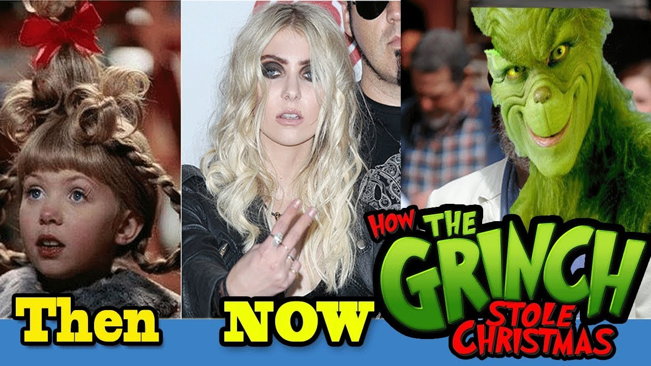 The Grinch Who Stole Christmas Cast.How The Grinch Stole Christmas Then And Now Cast